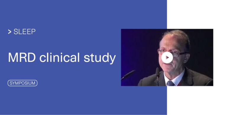 Sleep_Symposium MRD clinical study